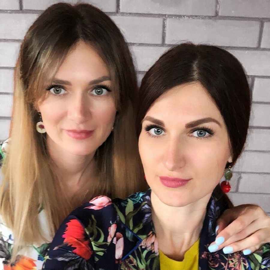 Татьяна Ильчишина и Александра Монмар