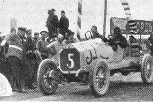 Георгий Суворин на автомобиле Benz. Гран-при России 1913 года ©Фото из журнала «Нива» №25 за 1913 год, автор неизвестен