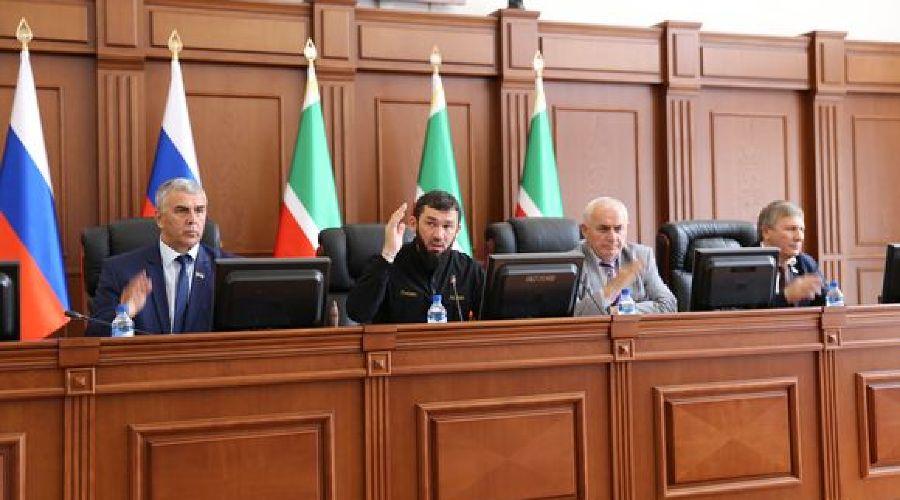 ©Фото пресс-службы парламента ЧР