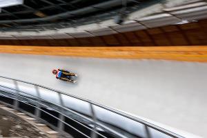 Чемпионате Европы по санному спорту в Сочи ©Фото Нины Зотиной, Юга.ру