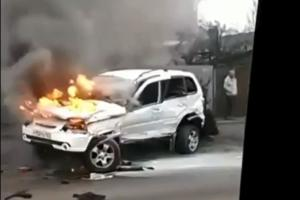 ©Скриншот видео из группы «ЧП Краснодар» «Вконтакте», vk.com/krd_chp