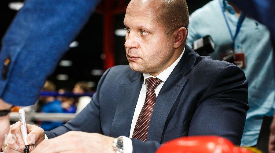 Автограф-сессия Федора Емельяненко в Краснодара ©Михаил Чекалов, ЮГА.ру