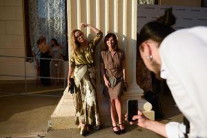 Ника Белоцерковская и Оксана Лаврентьева ©Фото Артура Лебедева, Юга.ру