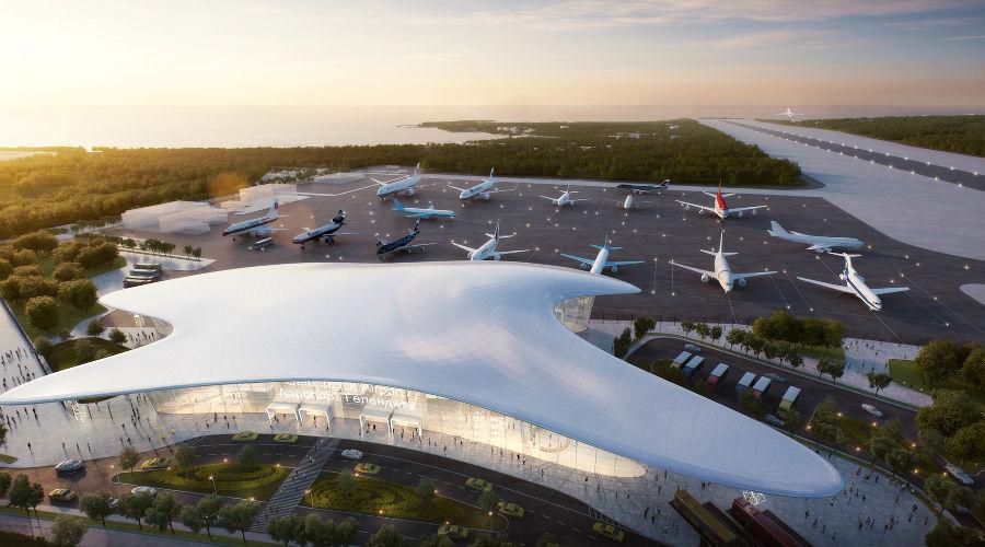 Проект аэропорта Геленджика ©Фото пресс-службы аэропорта Геленджика