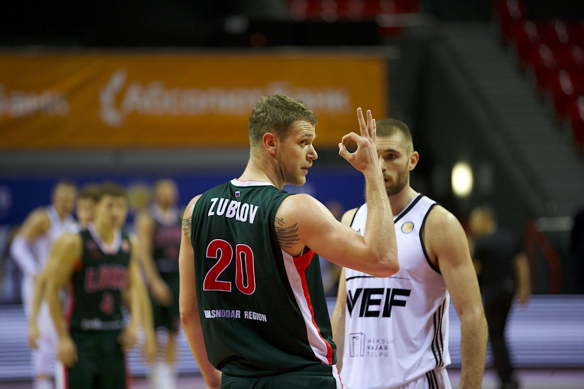 «Локомотив-Кубань» обыграл ВЭФ, ЦСКА одержал победу вматче с«Нижним Новгородом»