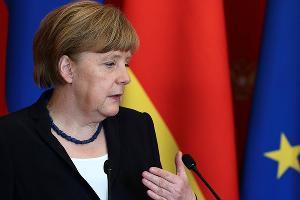 Ангела Меркель ©Фото пресс-службы Кремля