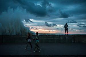 Шторм в Сочи ©Фото Нины Зотиной, Юга.ру