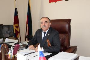 Абдурагим Алискеров ©Фото пресс-службы администрации Докузпаринского района