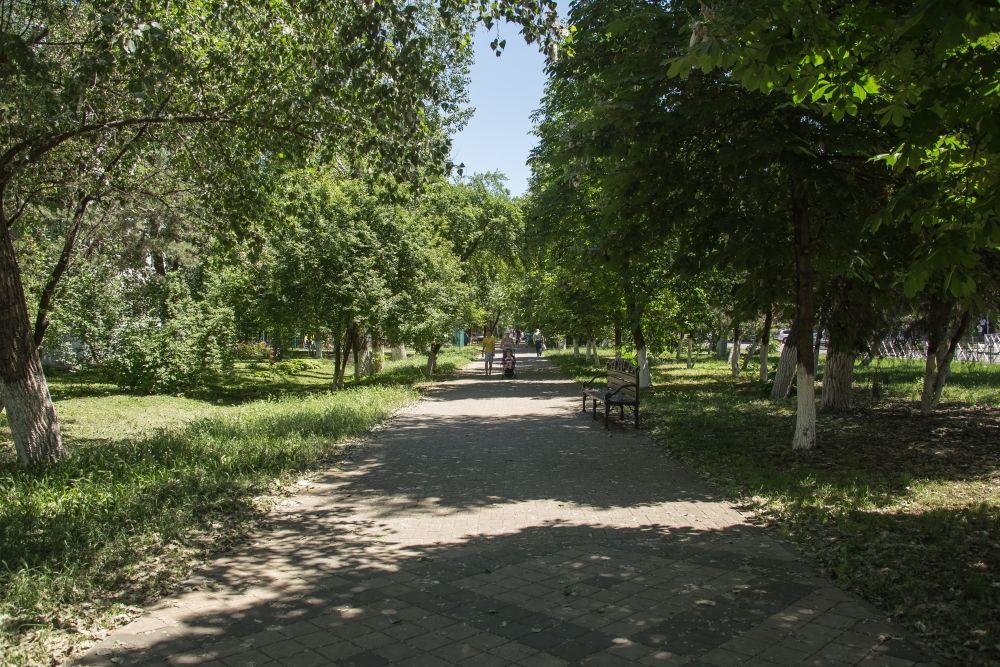Гагаринский бульвар ©Фото пресс-службы администрации Краснодара
