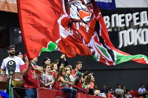 ПБК «Локомотив-Кубань» проиграл ЦСКА в полуфинале Единой лиги ВТБ ©Фото Елены Синеок, Юга.ру