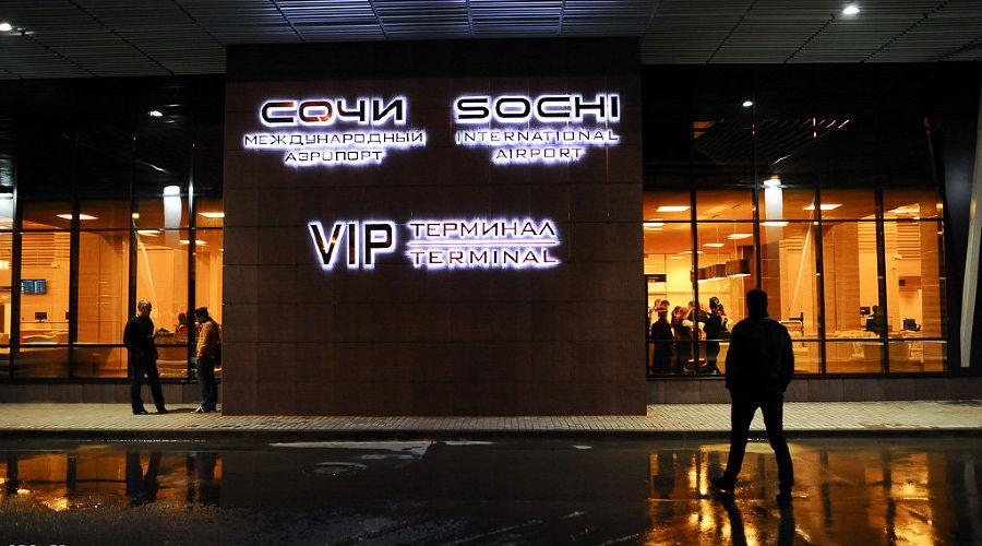 В Международном аэропорту Сочи ©Нина Зотина, ЮГА.ру