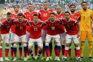 Сборная России по футболу ©Фото пресс-службы РФС