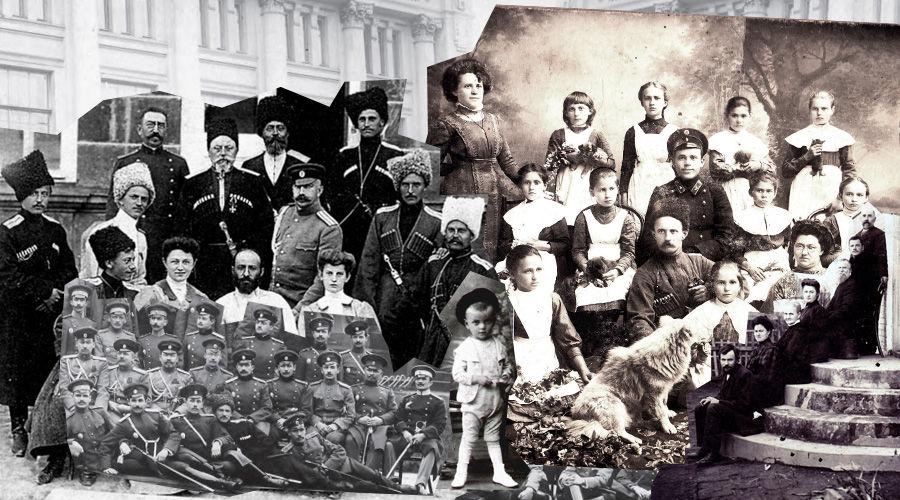 ©Коллаж из фотографий из книги Андрея Дюкарева «Казачьи генеалогии в историко-культурном контексте Кубани»