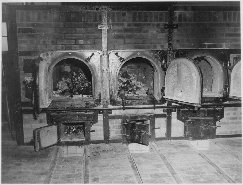 Печи крематория в Бухенвальде ©Фото с сайта commons.wikimedia.org