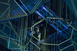 Репетиция и закулисье Цирка дю Солей (Cirque du Soleil) в Сочи ©Нина Зотина, ЮГА.ру
