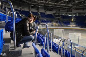 """Внутри Ледовой арены """"Шайба"""" ©Елена Синеок, ЮГА.ру"""