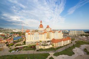 Отель «Богатырь» в Сочи ©Фото пресс-службы «Сочи Парка»
