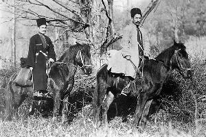 «Шапсуги, река Ашэ». Начало XX века ©Фото из архива Екатерины Богословской