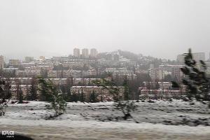 Последствия урагана и снегопада в Сочи ©Фото Никиты Быкова, Юга.ру