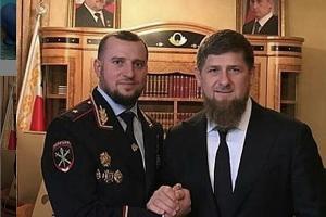 Апти Алаудинов и Рамзан Кадыров ©Фото со страницы instagram.com/za_kra_apti054