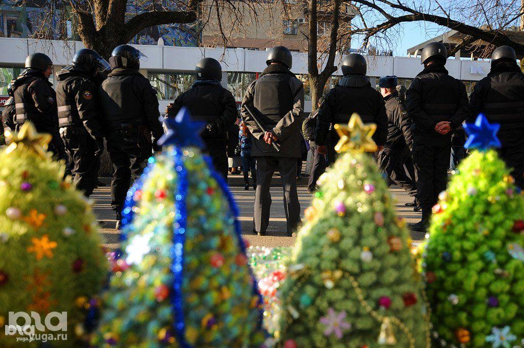 Митинг «За честные выборы» в Краснодаре ©Фото Елены Синеок, Юга.ру