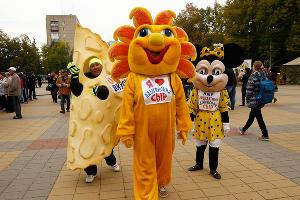 Фестиваль адыгейского сыра в Майкопе ©Фото Юга.ру