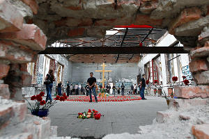 Вахта памяти по жертвам трагедии в Беслане ©Фото Юга.ру