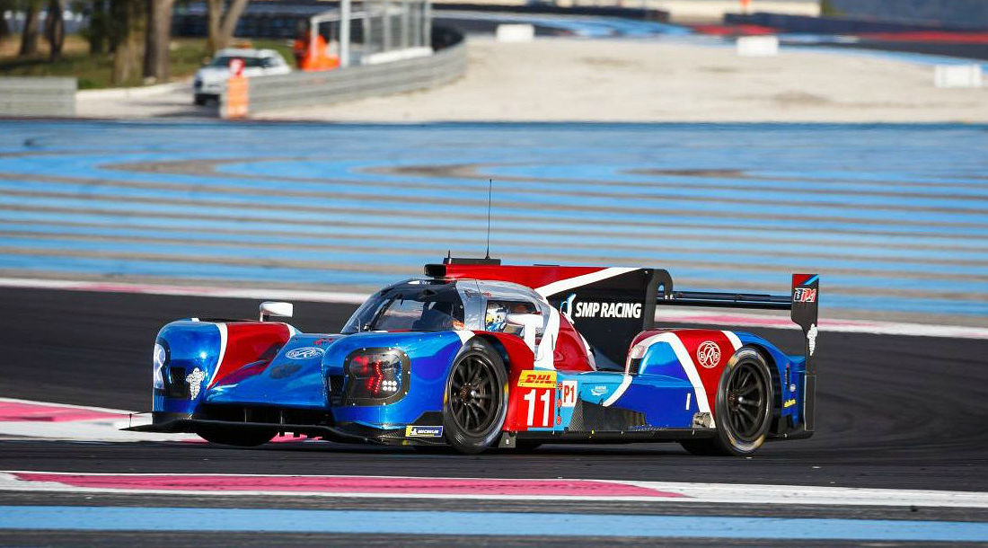 Машина команды SMP Racing (BR1) ©Фото LAT Images / ru.motorsport.com