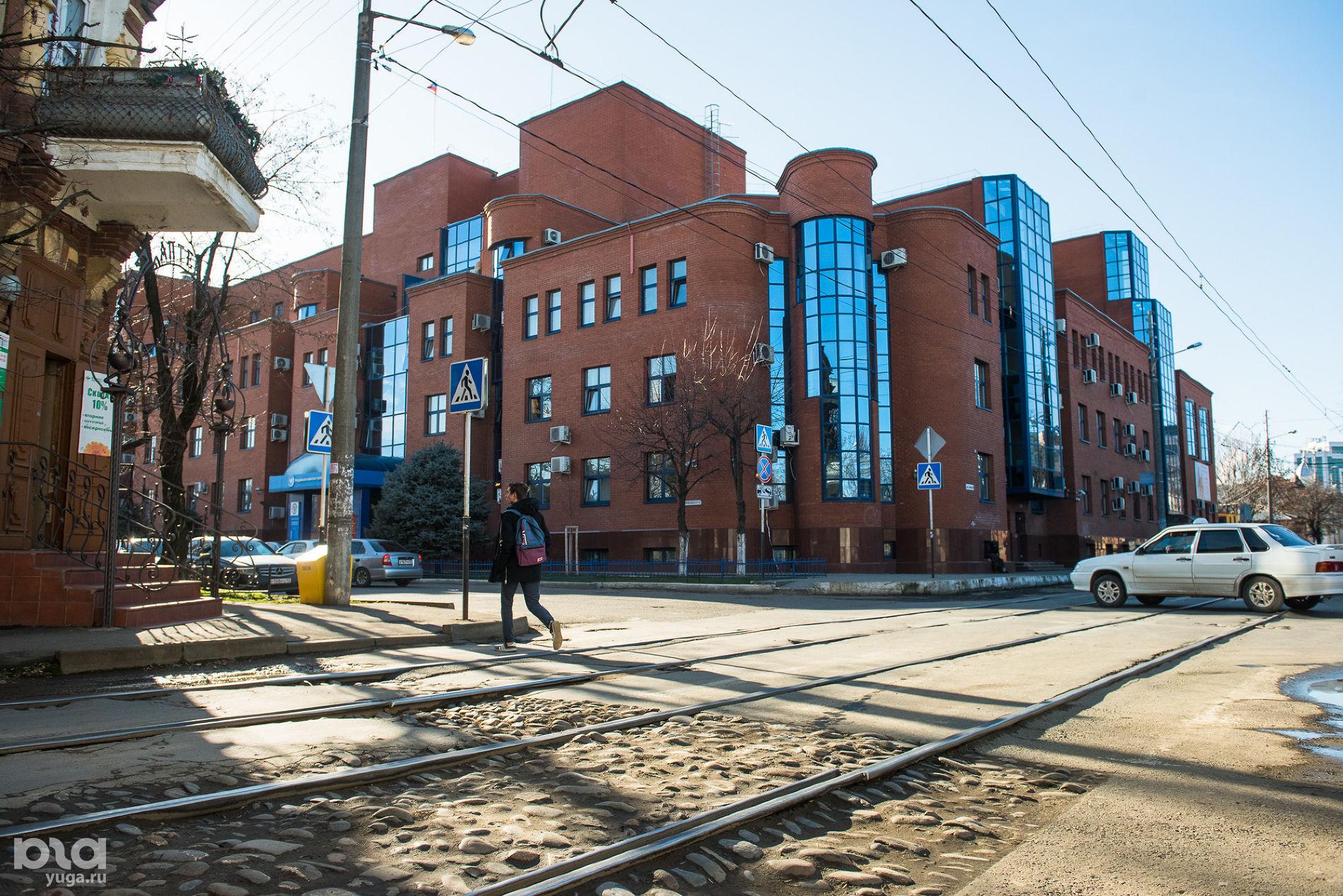 Пересечение улиц Гоголя и Янковского ©Фото Елены Синеок, Юга.ру