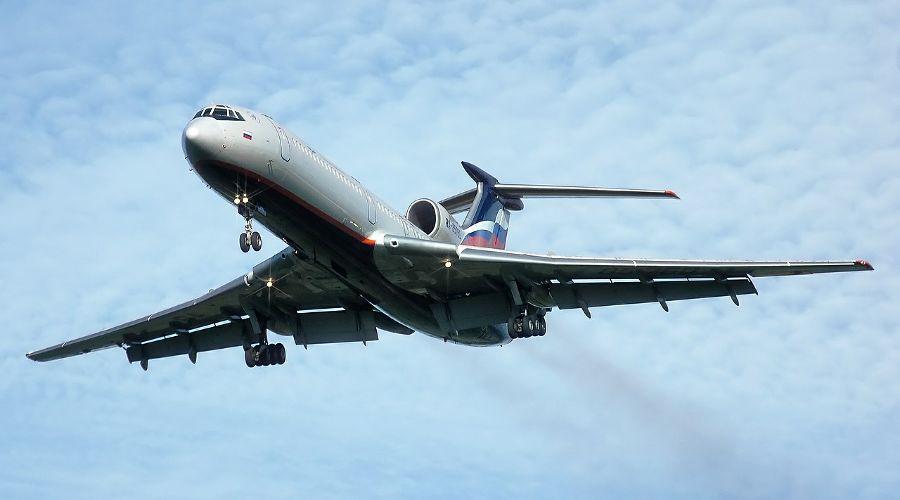 Ту-154 ©Фото с сайта pixabay.com