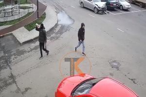 ©Кадр из видео телеграм-канала «Телетайп Краснодара», t.me/tipichkras