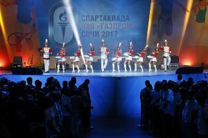 Лучшие моменты Спартакиады ПАО «Газпром» в Сочи ©Фото Николая Ильина