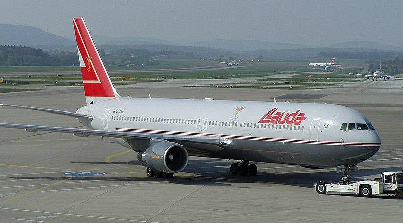 Самолет авиакомпании Ники Лауды ©Фото commons.wikimedia.org
