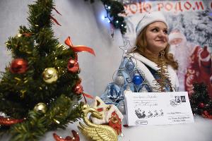 Новогодняя ярмарка в Краснодаре ©Елена Синеок, ЮГА.ру