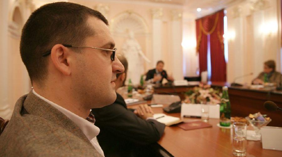 Антон Ищенко на встрече губернатора А. Ткачева с блогерами Кубани ©Фото Юга.ру