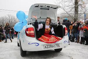 Студенческие гуляния в Татьянин день в Ставрополе ©Татьяна Барыбина, ЮГА.ру