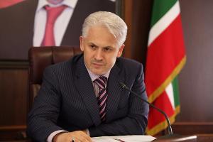 Муслим Хучиев ©Фото пресс-службы администрации Грозного