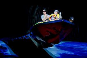 Рыбак Миша и турист Валентино на шоу ТОТЕМ в Сочи ©Анна Иванцова для © Cirque du Soleil