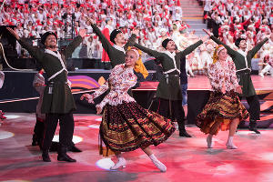 Церемония открытия Всемирных хоровых игр в Сочи ©Нина Зотина, ЮГА.ру