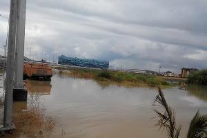 Наводнение в Сочи 25 июня 2015 года. Район Олимпийского парка ©http://www.blogsochi.ru