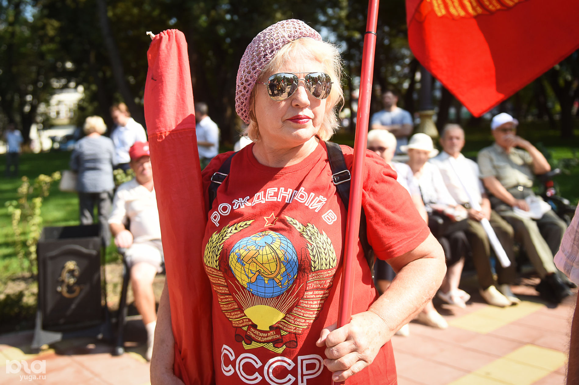 Тамара Орлова ©Фото Елены Синеок, Юга.ру