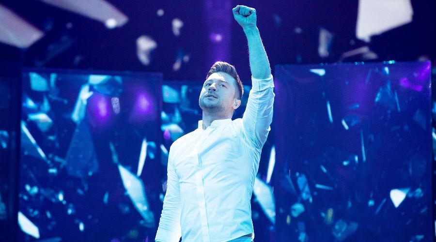 Сергей Лазарев ©Фото с сайта eurovision.tv