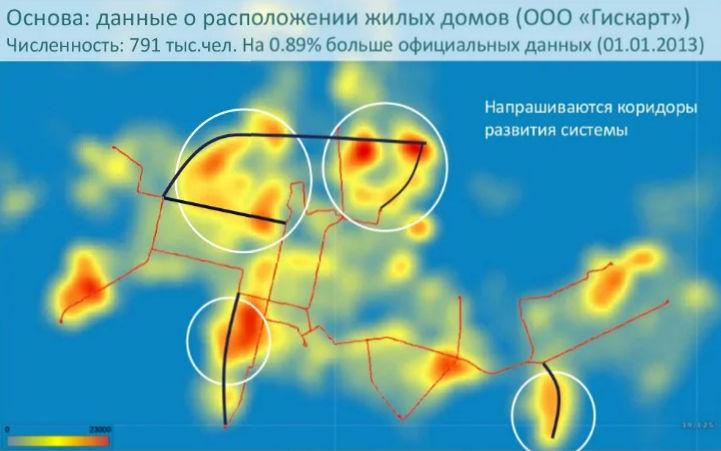 Необходимые Краснодару направления развития трамвайной сети ©«Городские решения»