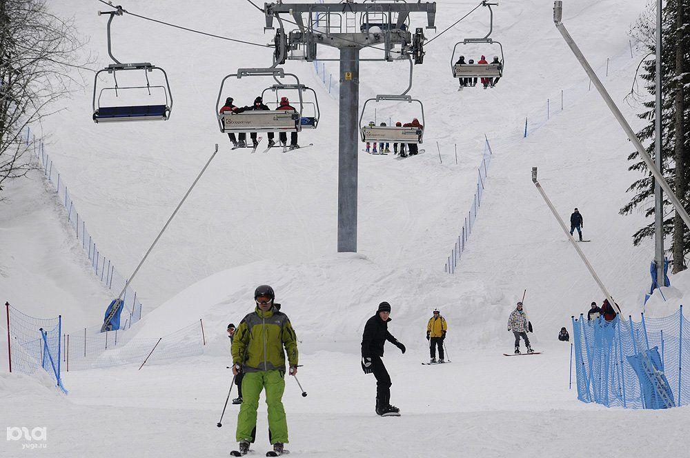 Власти Сочи ограничат движение транспорта из-за огромного потока горнолыжников
