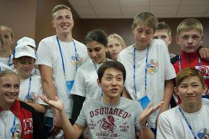 Открытие Всероссийского детского спортивно-оздоровительного центра в Сочи ©Фото Юга.ру