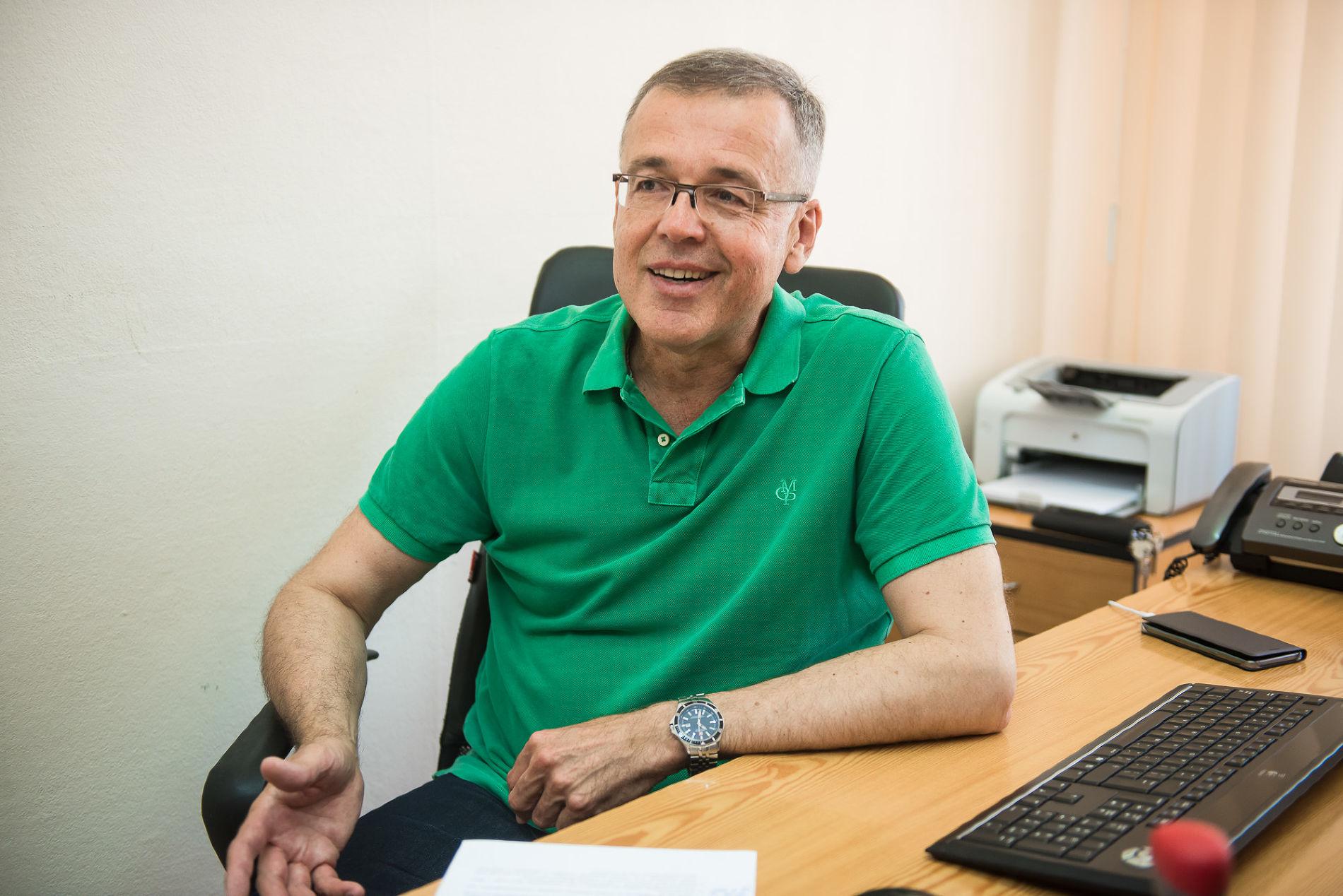 Профессор Андрей Зайцев ©Фото Елены Синеок, Юга.ру