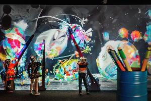 Мультимедийная «Галерея иллюзий» в «Сочи Парке» ©Фото пресс-службы «Сочи Парка»
