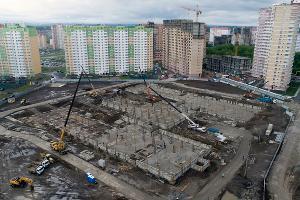 Новая школа на улице Автолюбителей ©Фото телеканала «Краснодар»