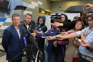Дмитрий Козак на Гран-при России Formula 1 в Сочи ©Влад Александров, ЮГА.ру