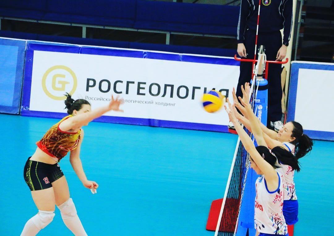 Волейболистки «Енисея» обыграли краснодарское «Динамо» взаключительном туреЧР